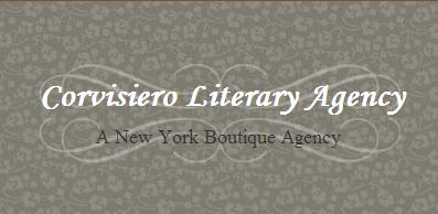 Website for Corvisiero Literary Agency